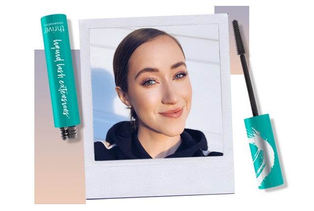 Allie Glines reviews vegan tubing mascara