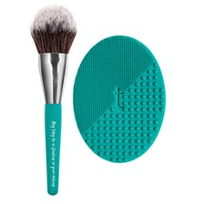 Filtered Effects™ All-Over Face Brush / Brush Hero™ Brush Cleansing Pad