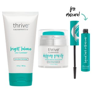 Bright Balance 3-in-1 Cleanser™ / Defying Gravity Moisturizer™ / Brynn (Rich Black)