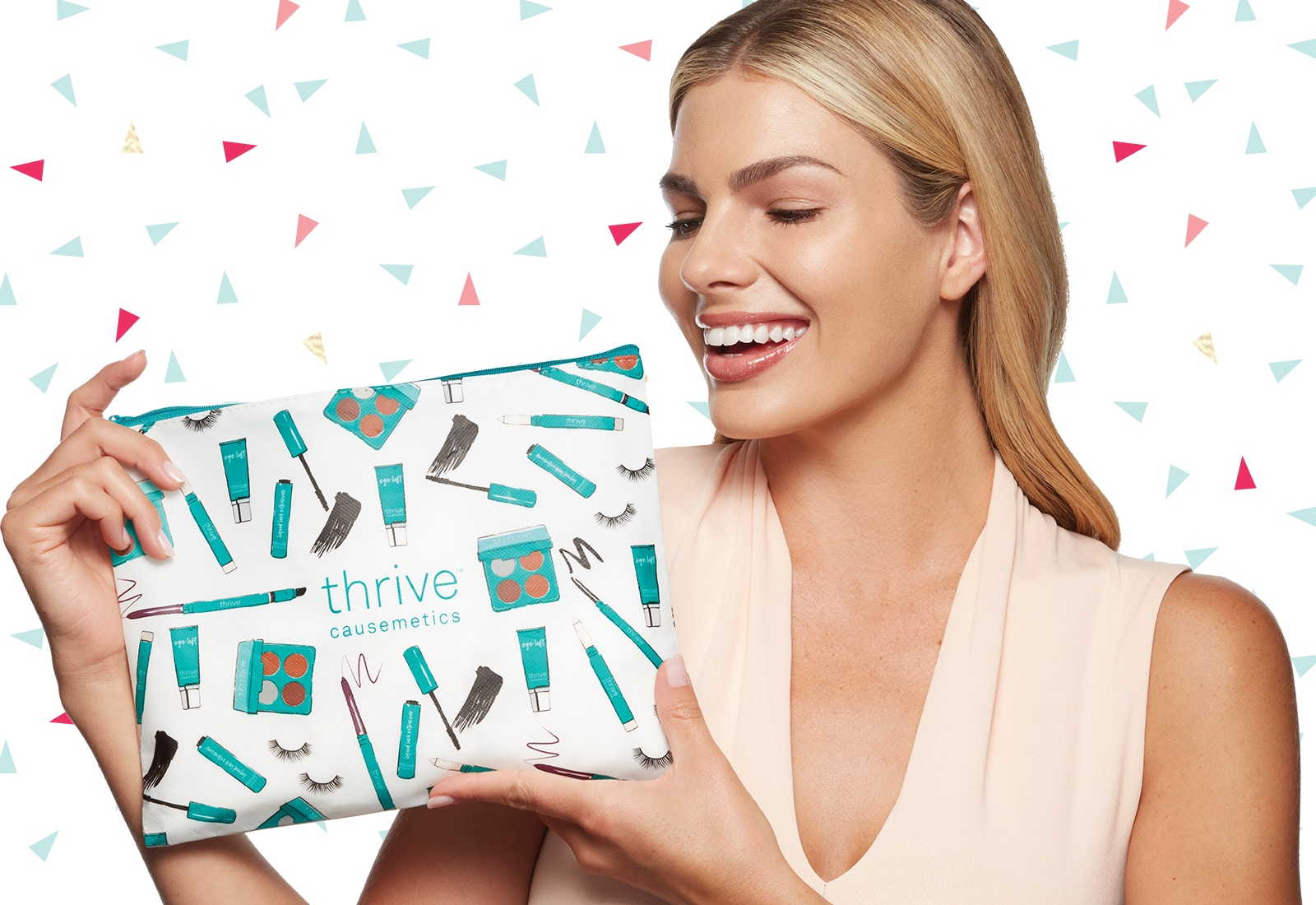 free makeup bag with every order