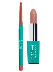 waterpoof lip liner and vegan lipstick