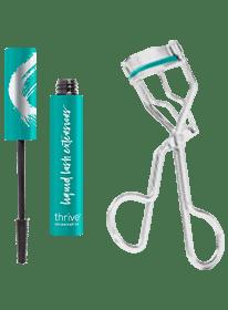 vegan tubing mascara + lash curler