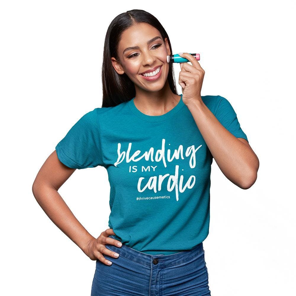 Blending is my Cardio T-Shirt in Extra Small product image