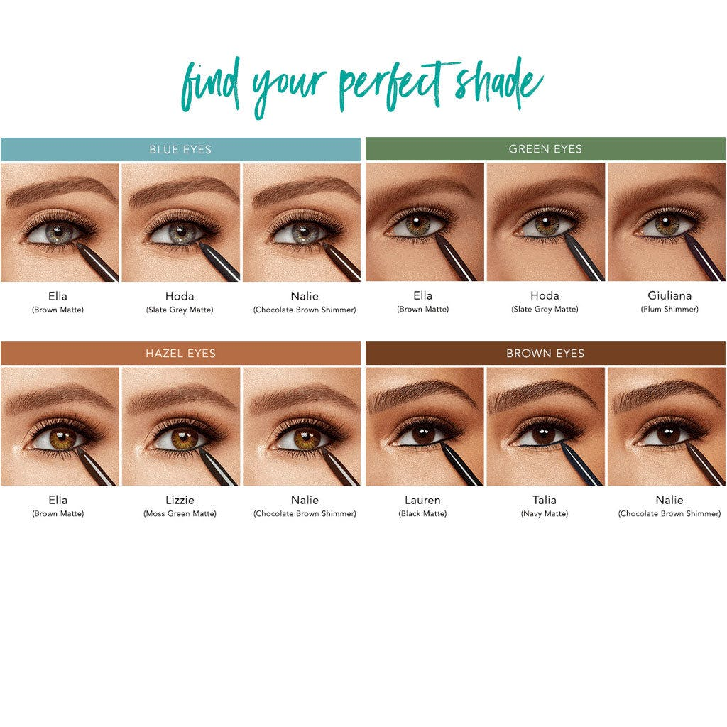 Buy Three Infinity Waterproof Eyeliners™, Get One Black Matte Free product image
