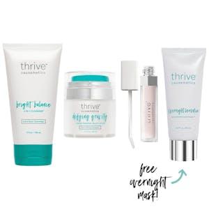 Bright Balance 3-in-1 Cleanser / Defying Gravity Moisturizer™ / Liquid Balm Lip Treatment™