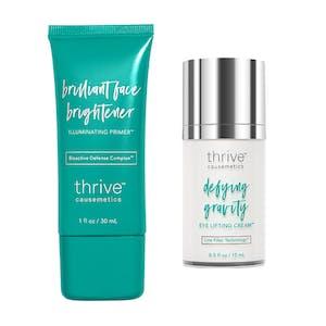Brilliant Face Brightener Illuminating Primer™ / Defying Gravity Eye Lifting Cream™