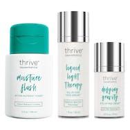 Moisture Flash Active Nutrient Toner™ / Liquid Light Therapy Face Serum™ / Defying Gravity Eye Lifting Cream™