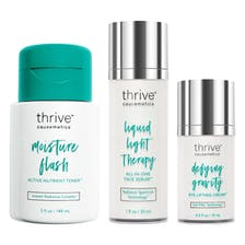 Moisture Flash Active Nutrient Toner™ / Liquid Light Therapy Face Serum™ / Defying Gravity Eye Lifting Cream™